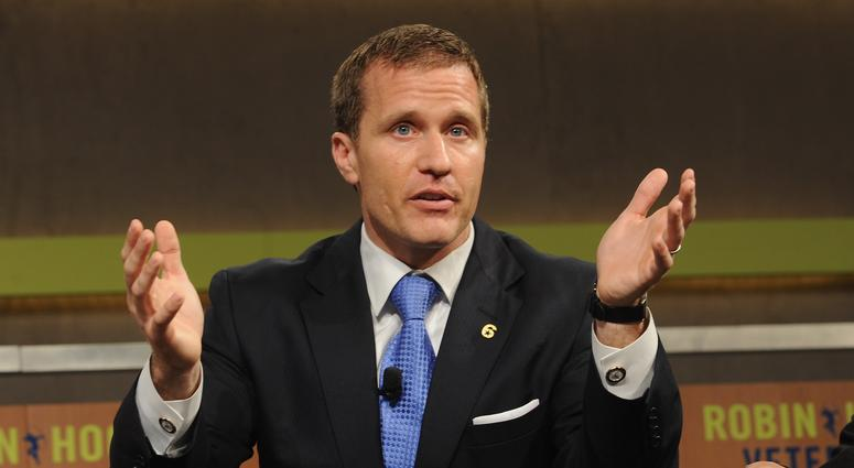 Charge is dropped against Missouri governor, for now