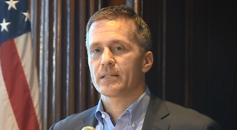 Missouri Gov. Eric Greitens releases statement following felony charge