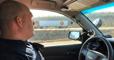 Commercial Vehicle Enforcement trooper enjoys interaction with truckers