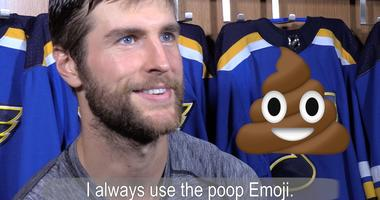 St. Louis Blues captain Alex Pietrangelo explains his favorite emoji