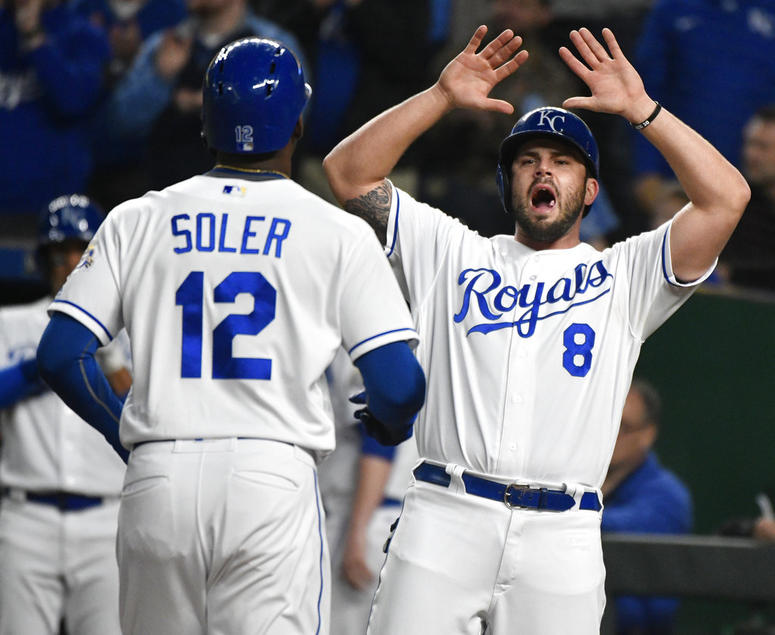 Royals end 5-game skid, beat White Sox to split doubleheader