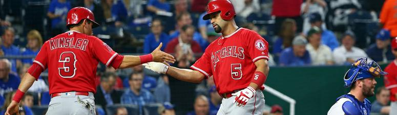 Pujols homers, drives in 3 as Angels top Royals 5-4