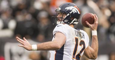 Broncos declare Paxton Lynch the starter for finale with Chiefs