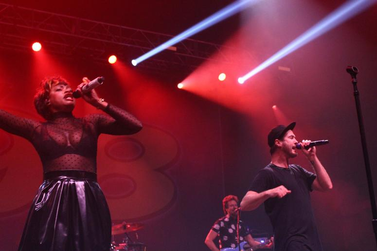 Fitz and the Tantrums at Y98 Mistletoe Show