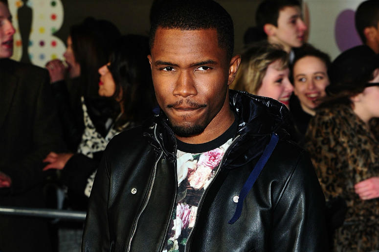 File photo dated 20/2/2013 of Frank Ocean