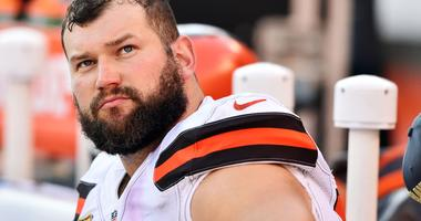 Retired Browns left tackle Joe Thomas