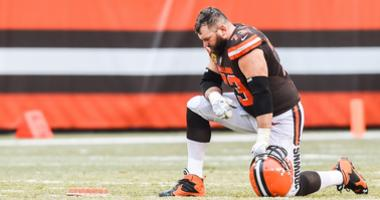 Browns left tackle Joe Thomas