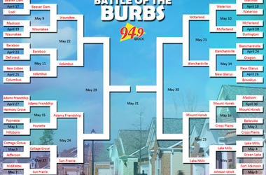 LISTEN:  Columbus VS Waunakee in our Battle of the Burbs Trivia