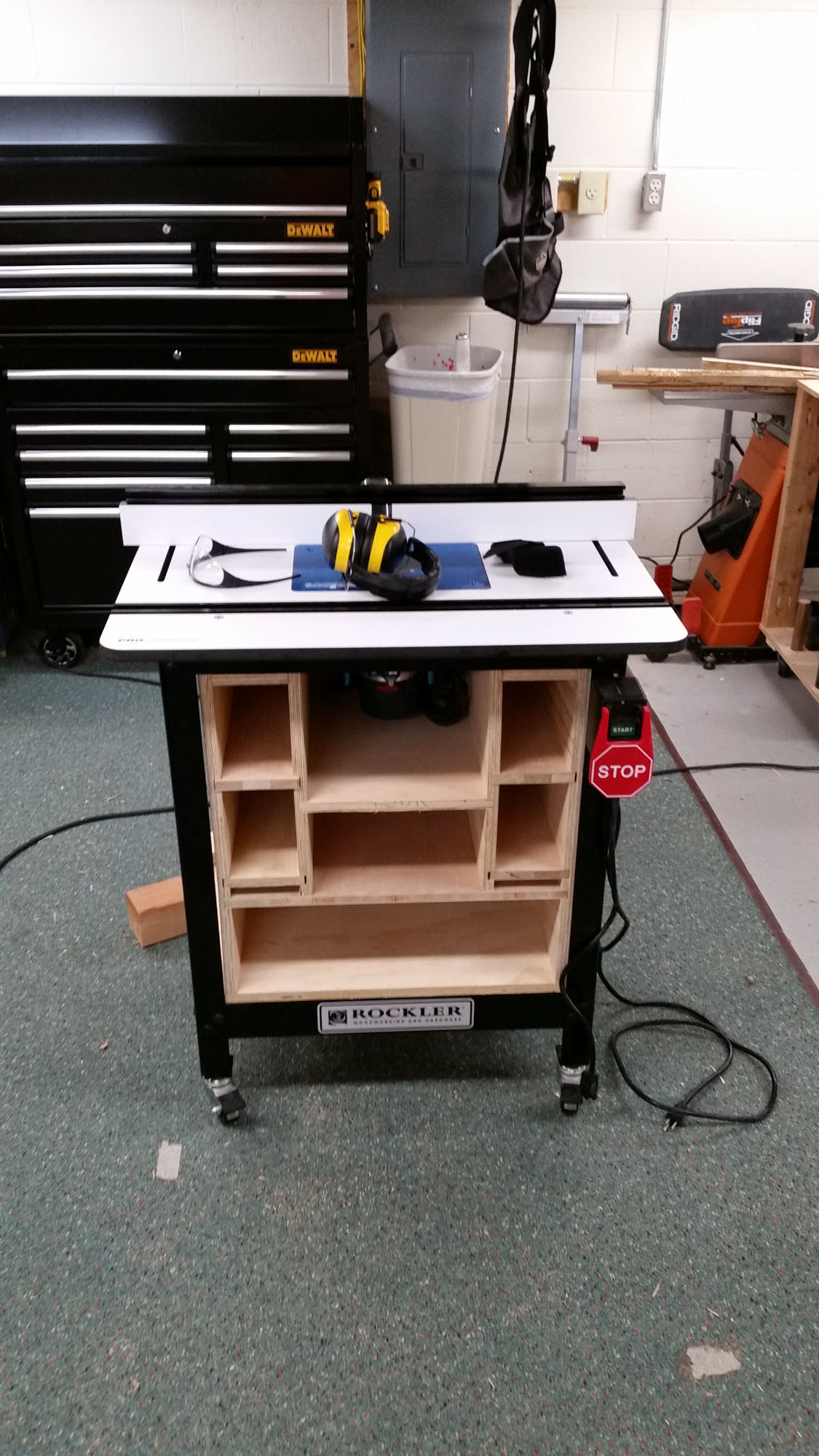 Rockler router table storage build in the shop power tool forum 8g greentooth Gallery