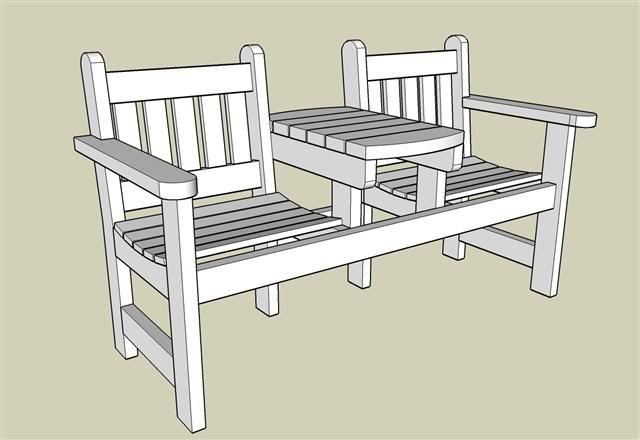 Garden bench with plans woodworking power tool for D i y garden bench designs