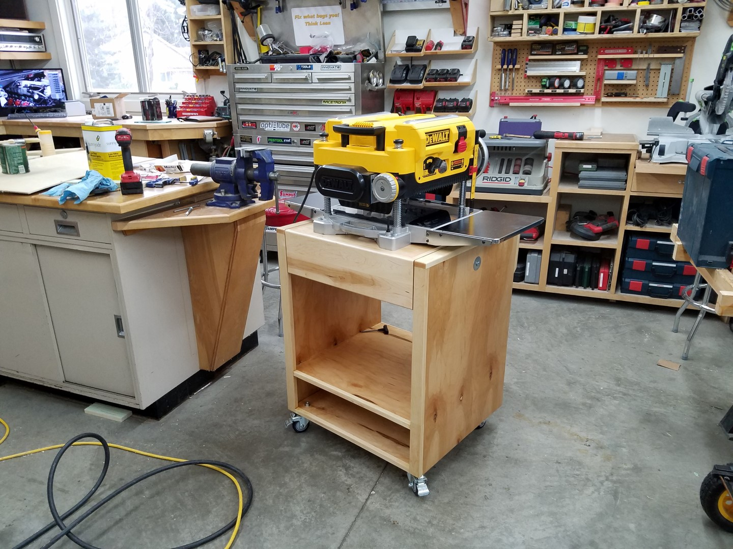 New Planer Stand - Woodworking - Power Tool Forum – Tools in