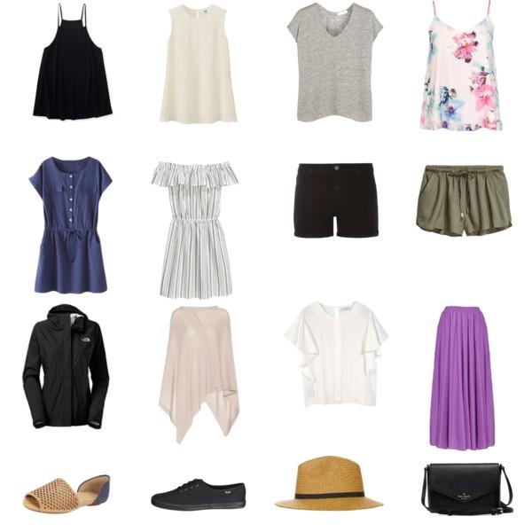 Summer Fashion: Travel Light