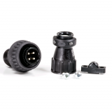 Mil Spec 4-Terminal Plug (Male)Kit