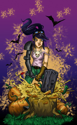 Malifaux Coloring Competition October Final By Victoriangirl