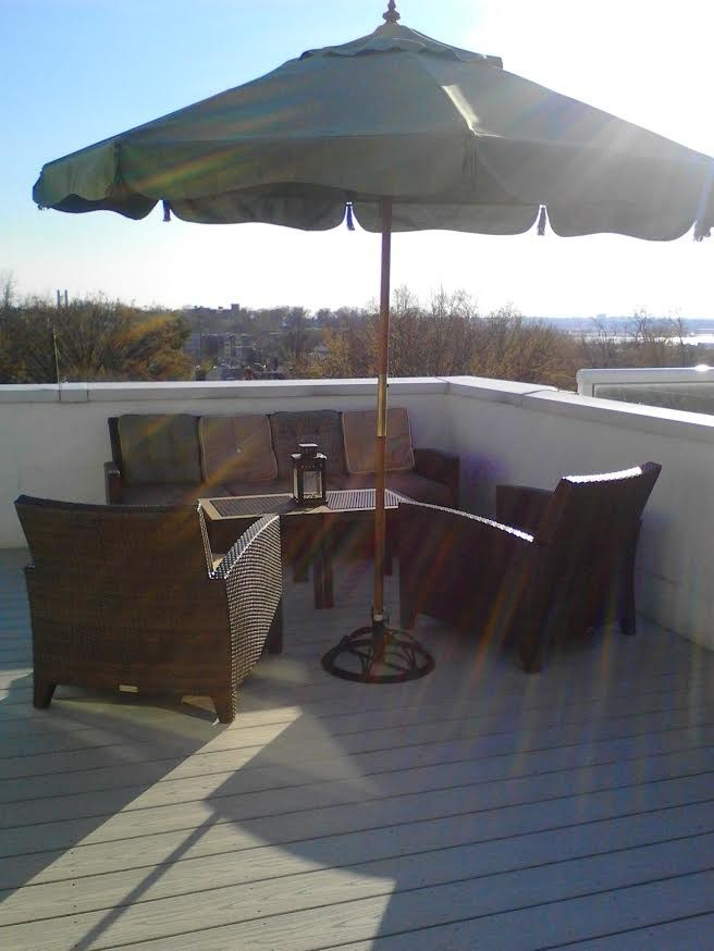 Furnished Room Available in 3 BR/2.5 BA Condo w/ Private Rooftop