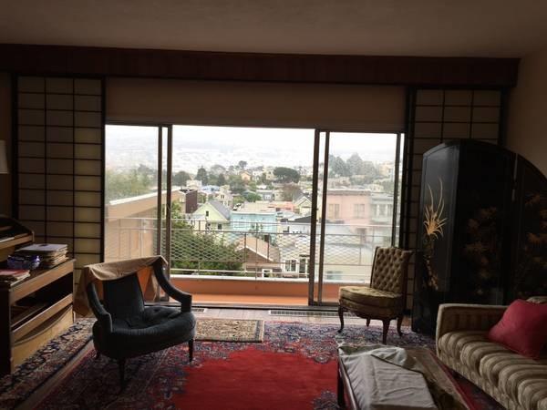1 Bedroom in 3 Bedroom Brilliant Apt. Near Glen Park $1250 (glen park)