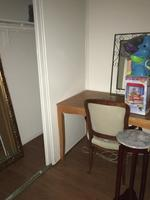 One small room furnished room with double bed