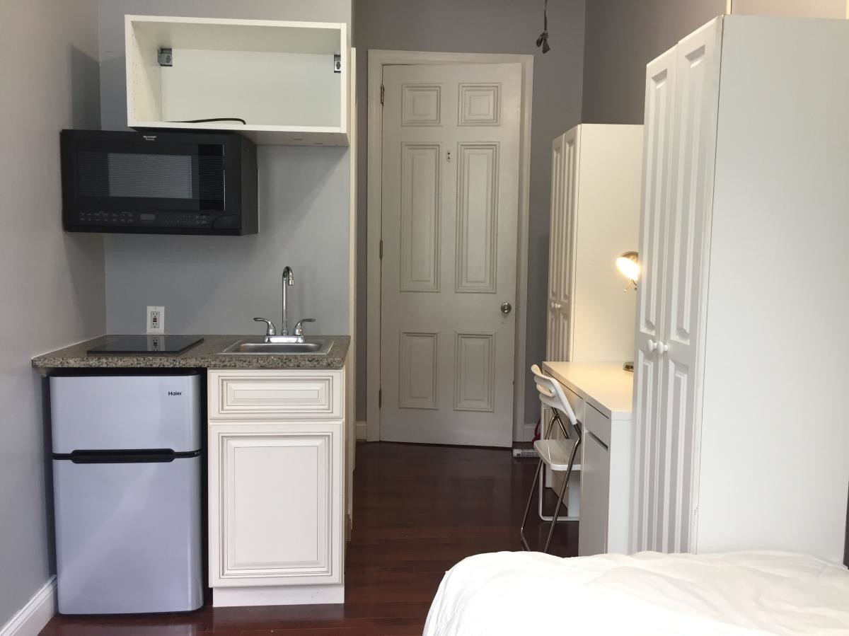The luxury studio completely renovated and furnished