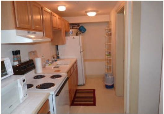 1Bedroom 1Bath apartment with a separate entrance