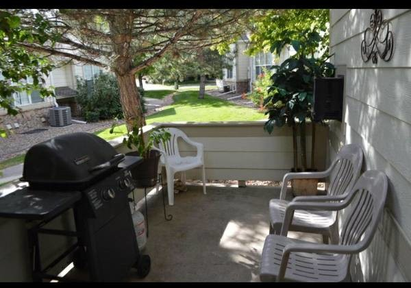 Townhouse, fireplace, in private home. All utilities and amenities included.