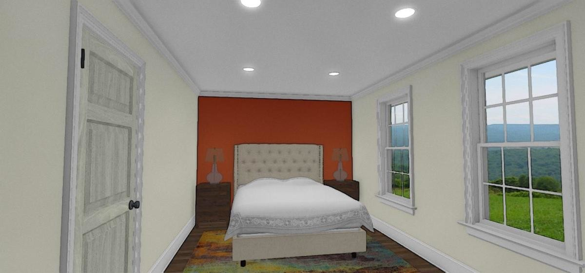 This spacious 1 bedroom includes a private den and private bathroom