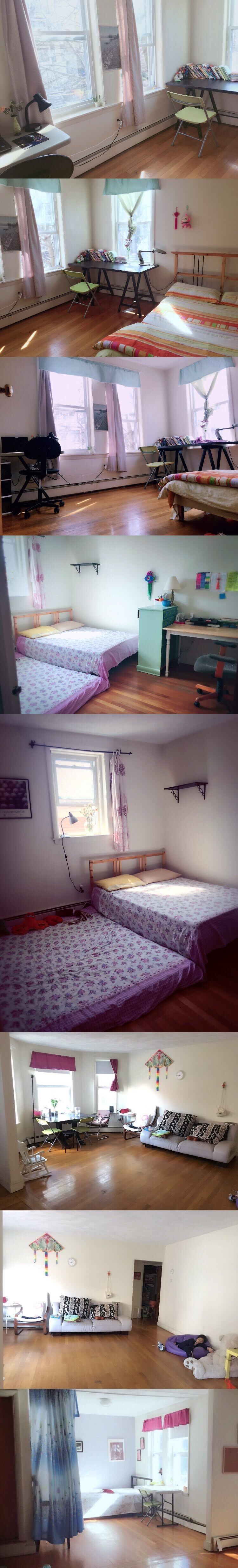2B1B shared one bedroom