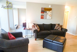 Beautiful, modern and very bright one bedroom, one bathroom apartment