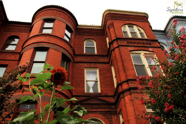 Harming and historic apartment building in the heart of Capitol Hill
