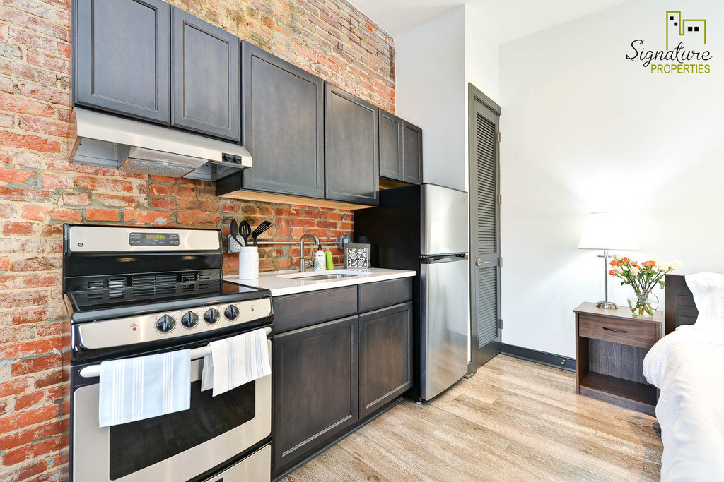 The Capitol Hill Flats boasts this newly renovated studio