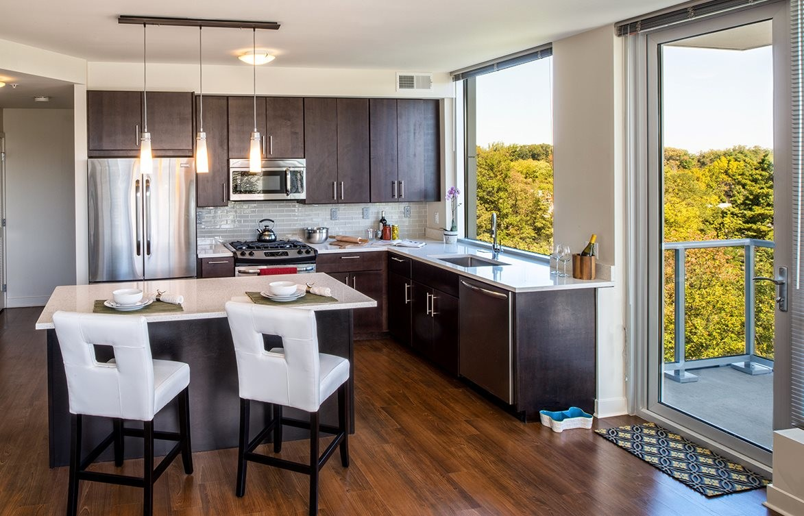 Verde Pointe - Tower -  2 bedroom - Apartment 215B - Chartreuse - 1,099 sq. ft.