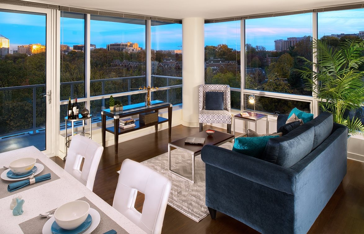 Verde Pointe - Tower -  2 bedroom - Flat 015B - Chartreuse -