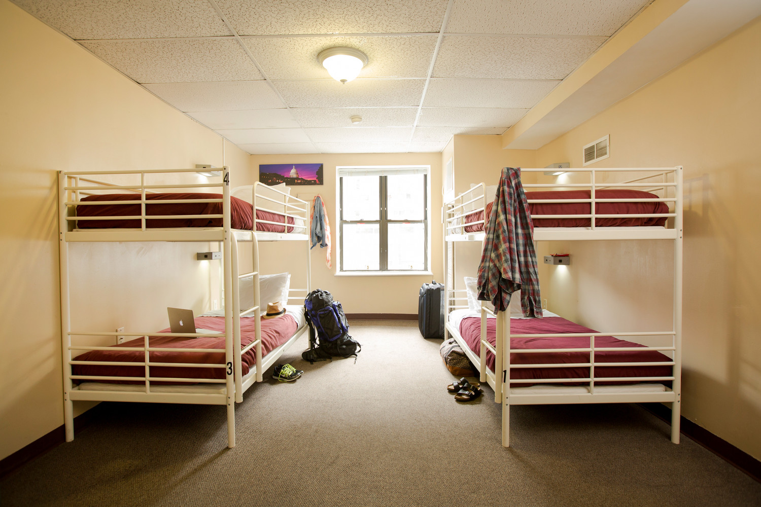 Stay in a Dorm - Co-ed Room