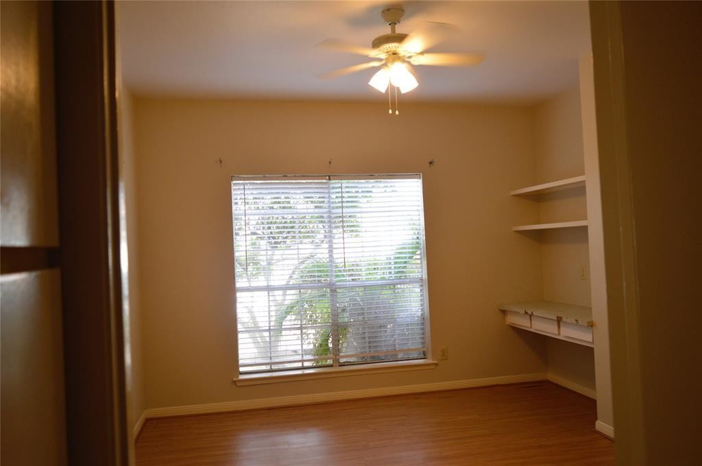 Cute one bedroom condo with a patio and outside storage