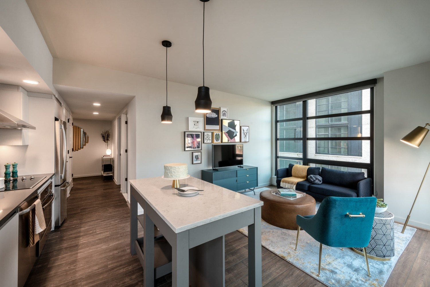 NoMa Shared Two Bedroom, Two Bathroom Apartment