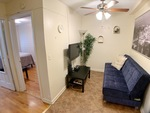 (Perfect Sublet #1004) Furnished 2BR + Sofa bed in Elevator/ Laundry building