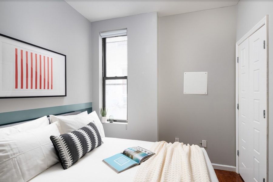 483 - Private furnished room in a 4 bedroom 1,5 bathroom apartment in Bushwick