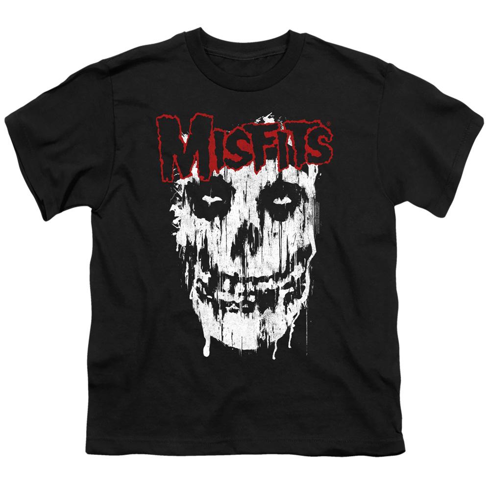 Official Misfits Fiend Skull Logo Black Unisex T-Shirt Licensed Tee