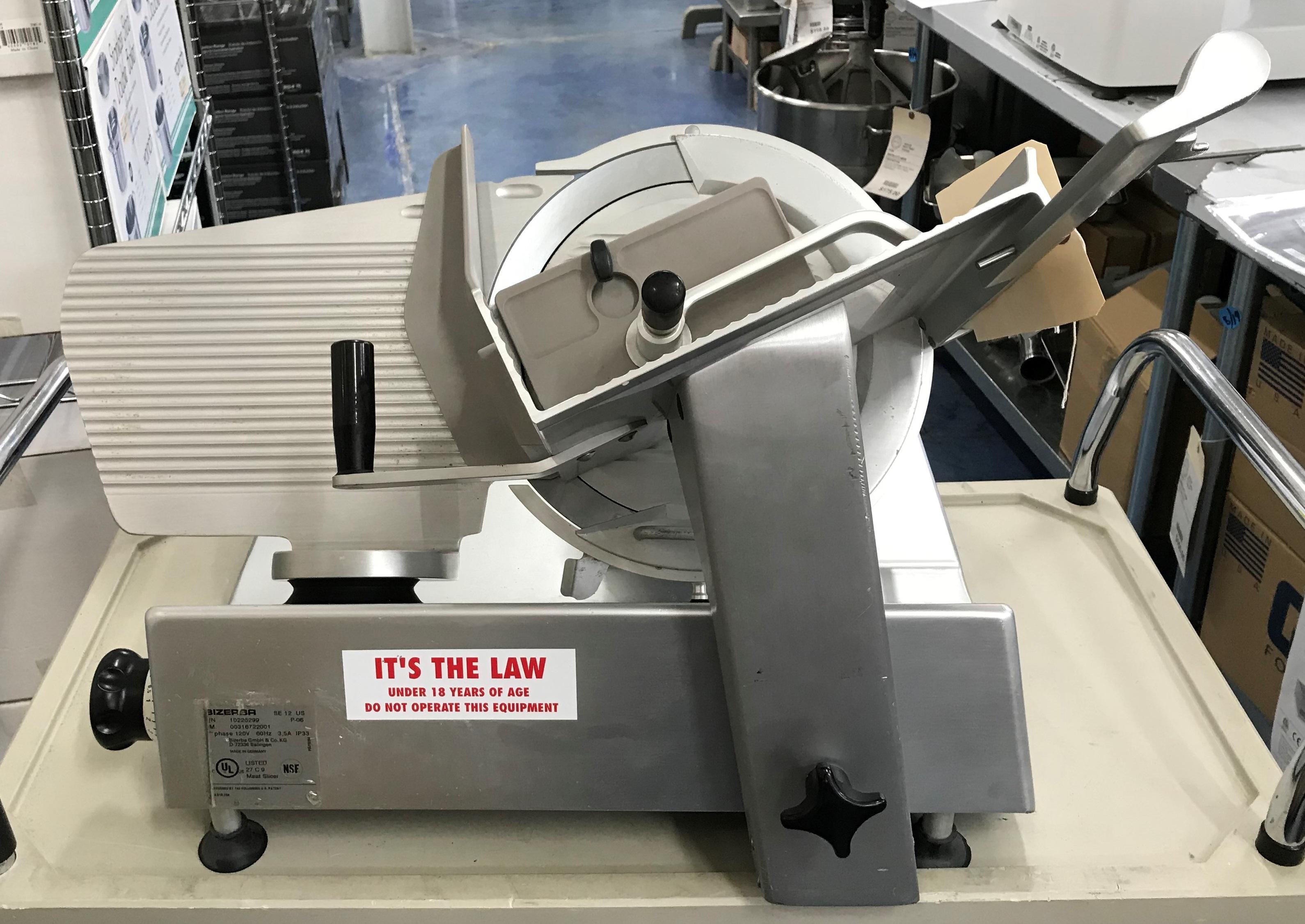 Bizerba Precision Deli Slicer SE 12 Image