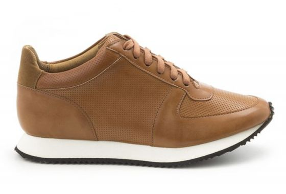 Paola Perforated Brown