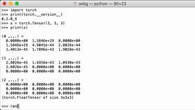 Fill A PyTorch Tensor With A Certain Scalar · PyTorch Tutorial