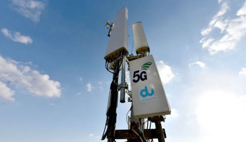 Albilad | Dubai's Du conducts first live 5G data call on its