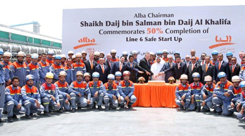Albilad | Alba marks 50% milestone on Line 6 start-up