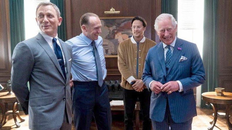 Albilad | When 007 met the Prince: Bond film set gets royal visit