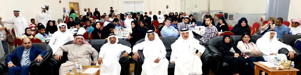حميدان يتفقد مركز تنمية العمل التطوعي