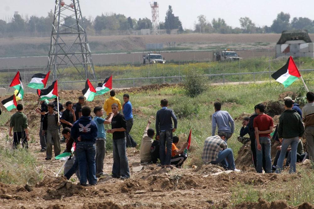 إصابة 7 شبان فلسطينيين برصاص الاحتلال
