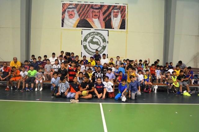 القيدوم: هدفي تأسيس قاعدة قوية لنادي البحرين