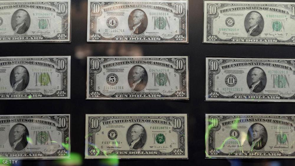 انخفاض الدولار مقابل سلة عملات