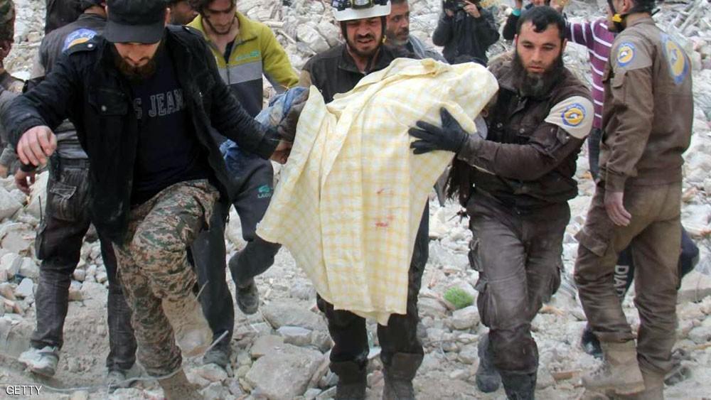 """مسلح يقتل 7 من """"الخوذ البيضاء"""" في سوريا"""