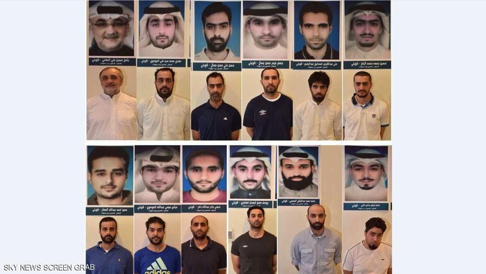 """الكويت تكشف هوية عناصر """"خلية العبدلي"""" المقبوض عليهم"""