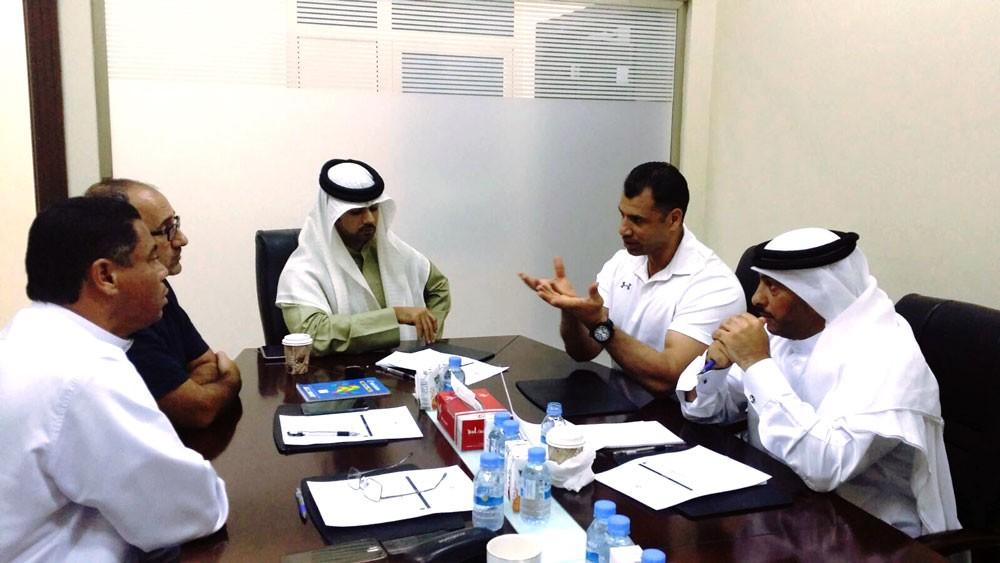 لجنة بناء الأجسام تطلع الغانم على أجندتها واستعداداتها للبطولات القادمة